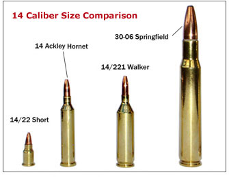 14 caliber bullet size comparison